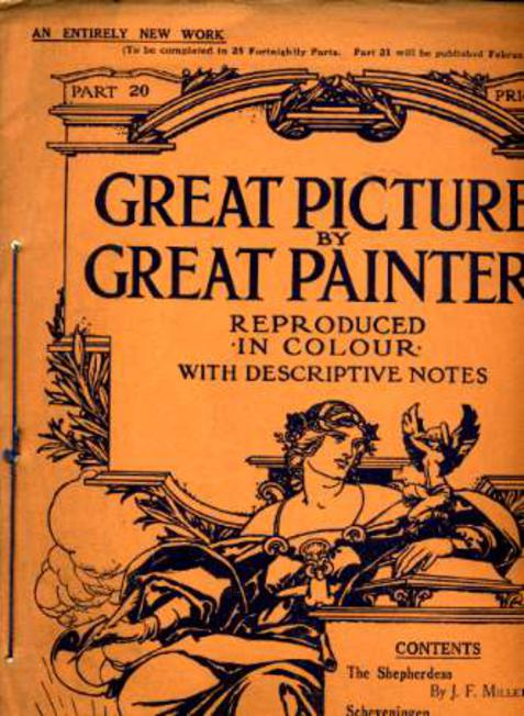 Image for Great Pictures By Great Painters Reproduced in Colour with Descriptive Notes - Part 20