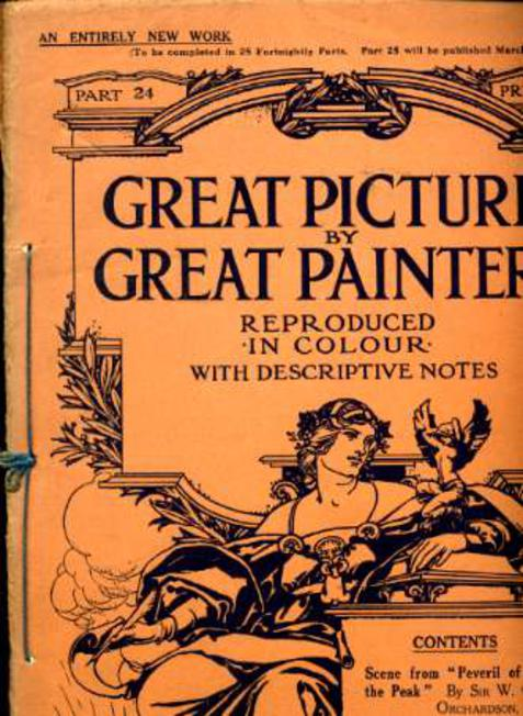 Image for Great Pictures By Great Painters Reproduced in Colour with Descriptive Notes - Part 24
