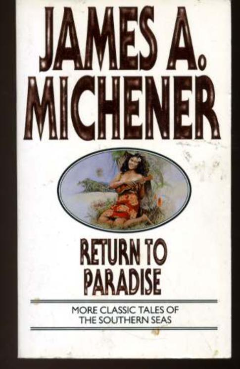 Image for Return to Paradise