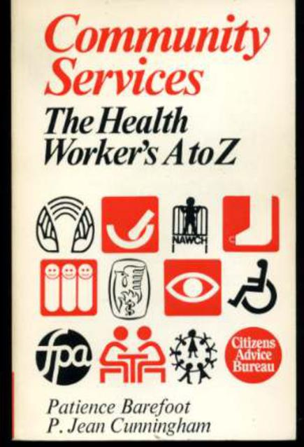 Image for Community Services: The Health Worker's A-Z
