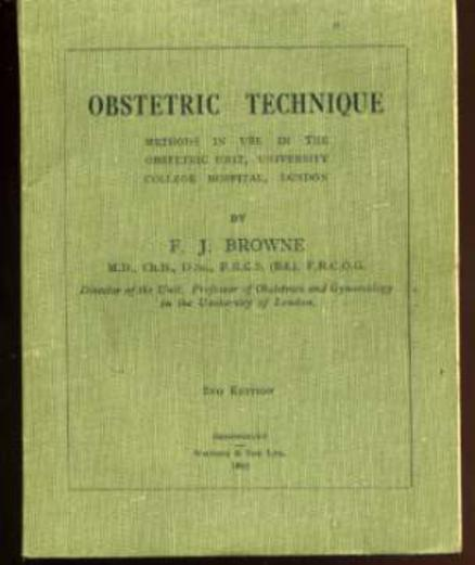 Image for Obstetric Technique