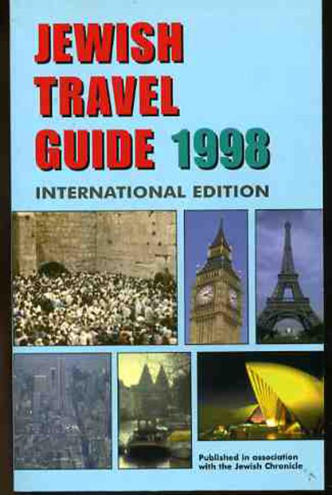 Image for Jewish Travel Guide 1998 : International Edition