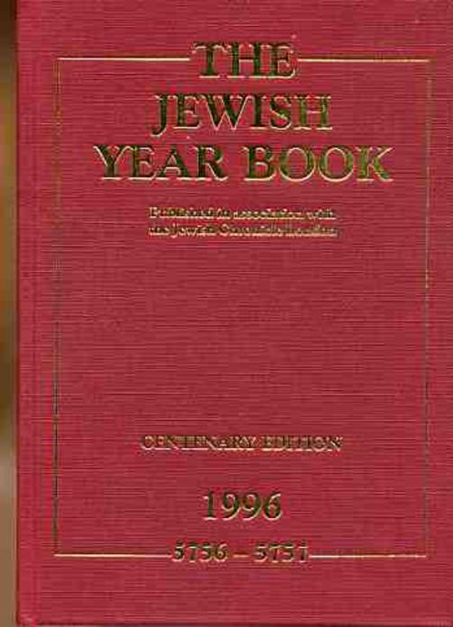 Image for The Jewish Year Book 1996 Centenary Edition