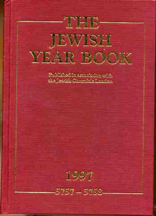 Image for The Jewish Year Book 1997  5757-5758