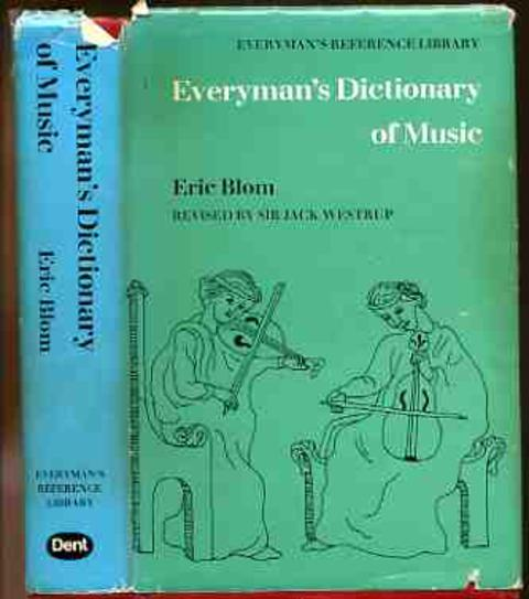 Image for Everyman's Dictionary of Music
