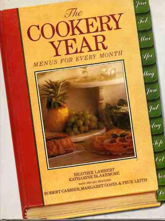 Image for The Cookery Year : Menus for Every Month