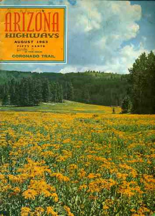 Image for Arizona Highways August 1963 Volume XXXIX No 8