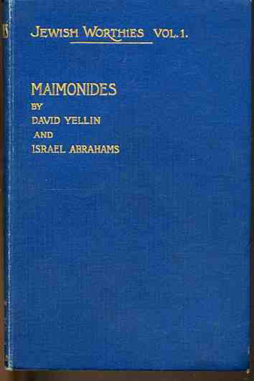 Image for Maimonides