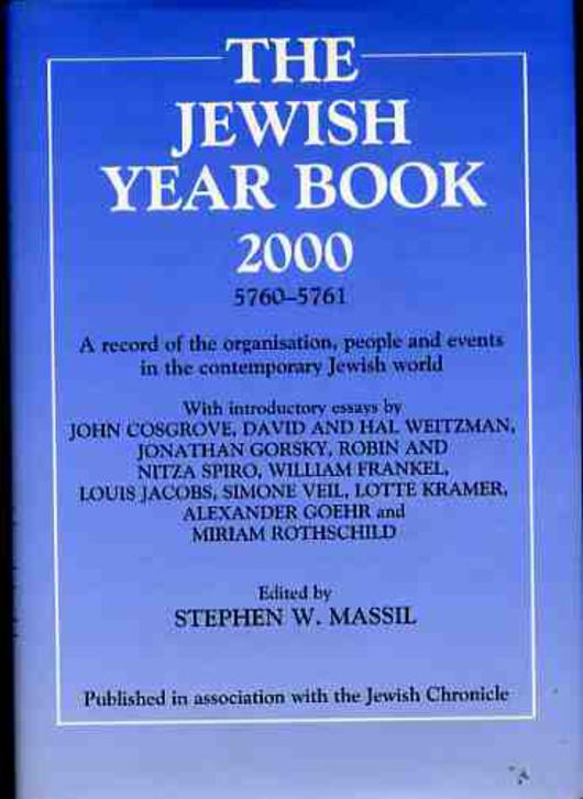 Image for The Jewish Year Book 2000 - 5760-5761 - A record of the organisation, people and events in the contemporary Jewish World