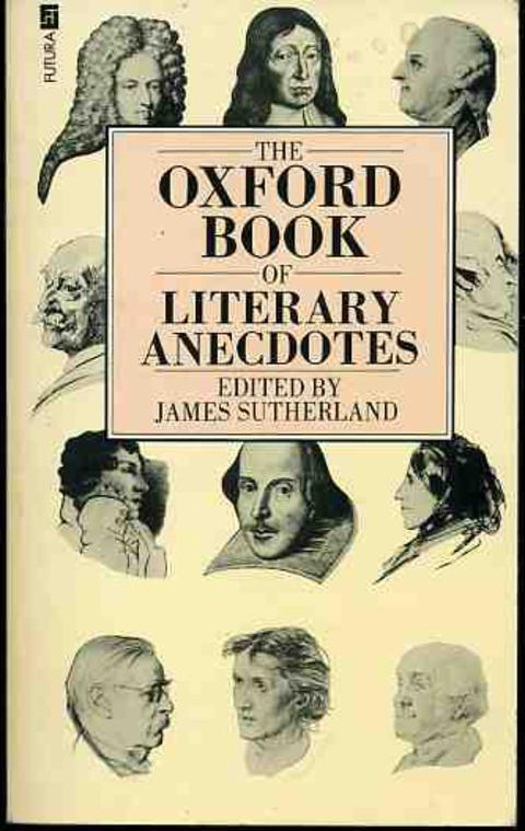 Image for The Oxford Book of Literary Anecdotes