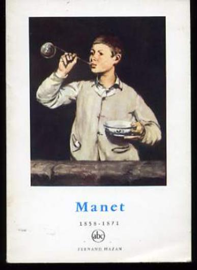 Image for Manet : 1858-1871