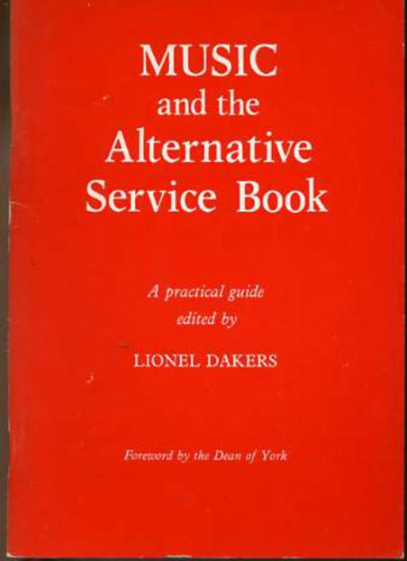 Image for Music and the Alternative Service Book