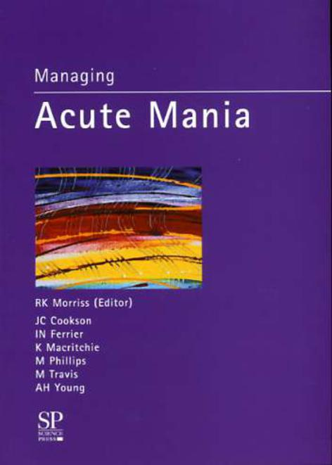 Image for Managing Acute Mania