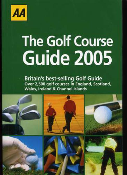 Image for AA : The Golf Course Guide 2005