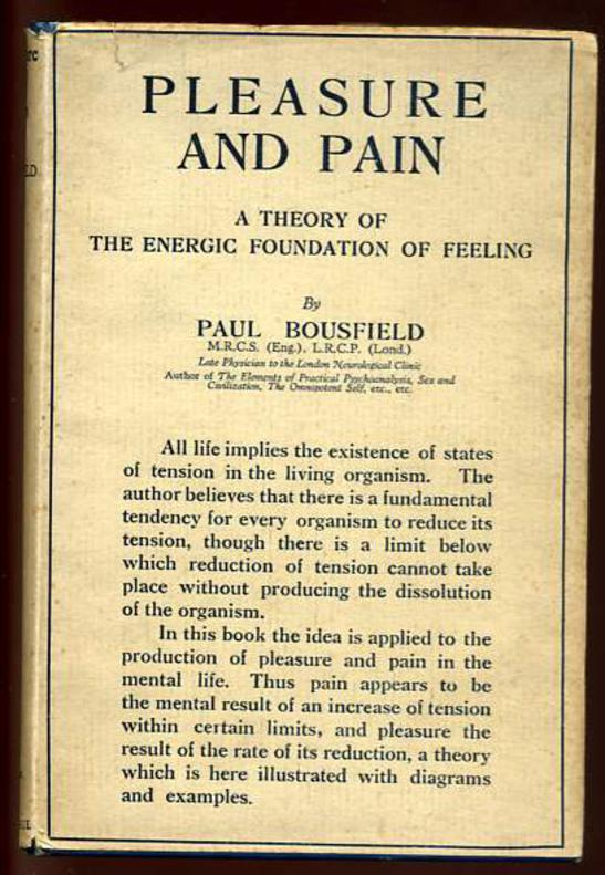 Image for Pleasure and Pain: A Theory of the Energic Foundation of Feeling