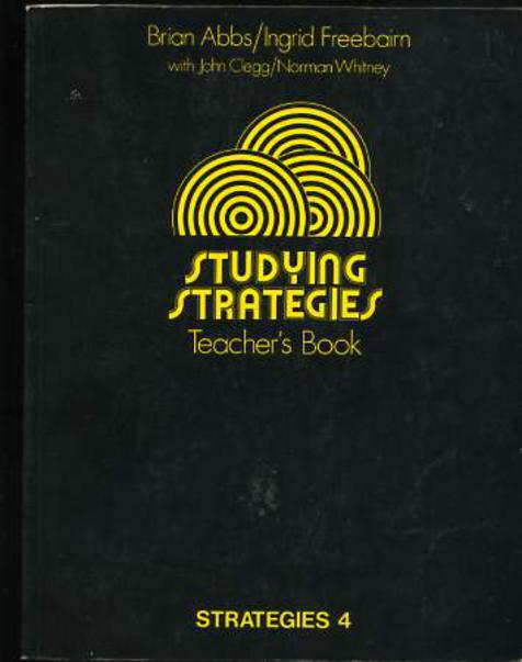 Image for Studying Strategies: Teacher's Book (Strategies 4)