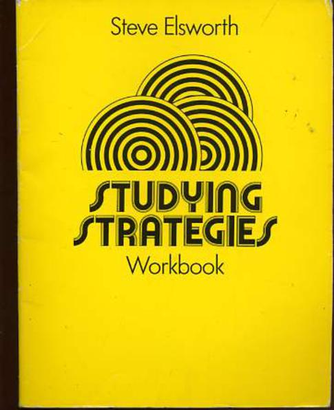 Image for Studying Strategies Workbook