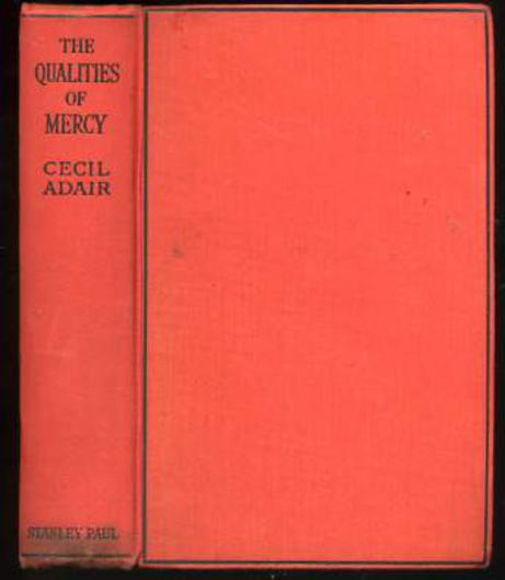 Image for The Qualities of Mercy