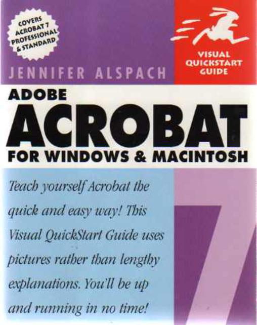 Image for Adobe Acrobat for Windows & MacIntosh