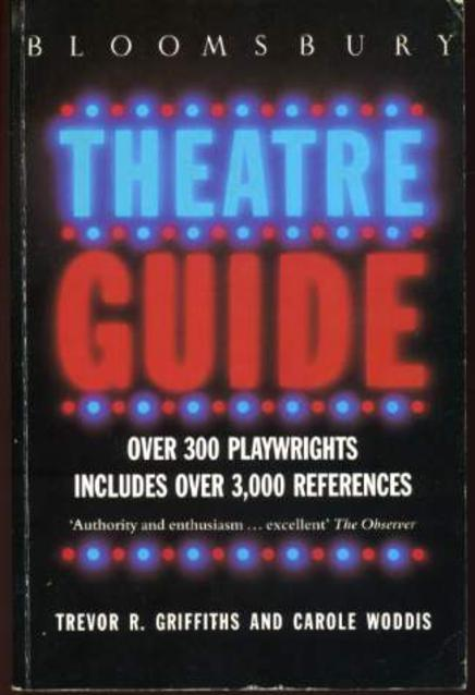 Image for Bloomsbury Theatre Guide
