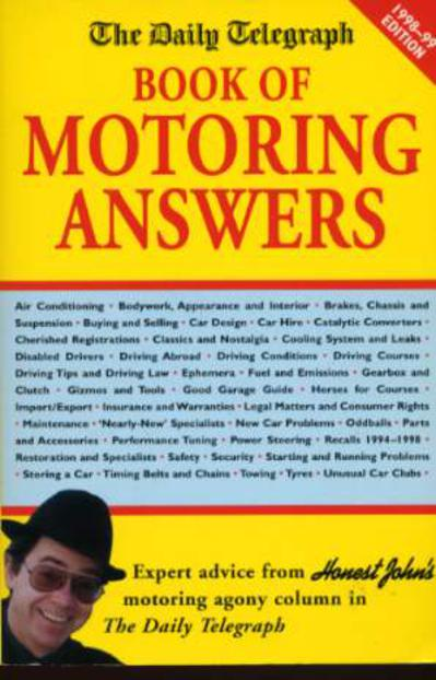 Image for The Daily Telegraph Book of Motoring Answers  1998-99 Edition
