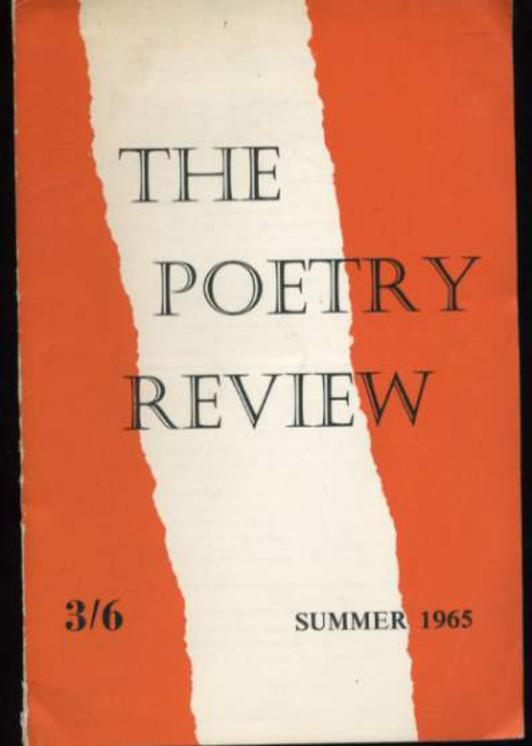 Image for The Poetry Review Summer 1965
