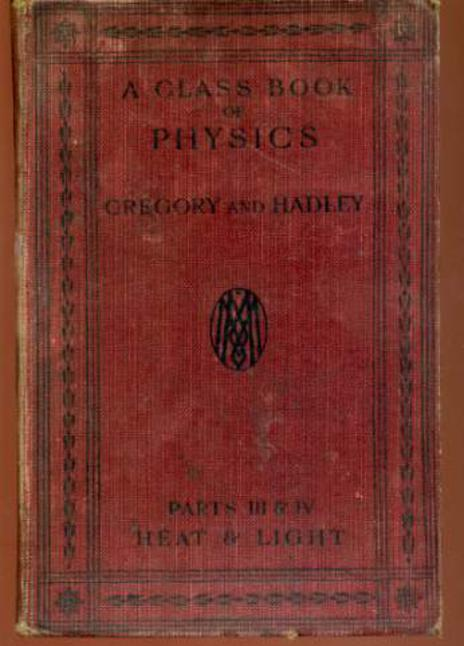 Image for A Class Book of Physics