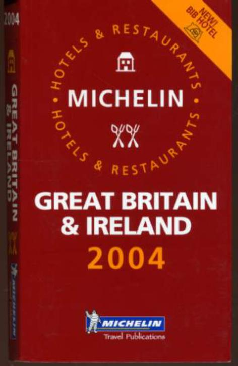 Image for Michelin Guide Great Britian and Ireland 2004