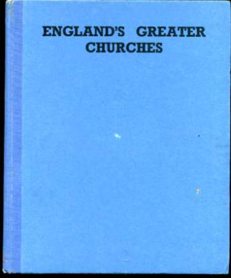 Image for England's Greater Churches - a Pictorial Survey