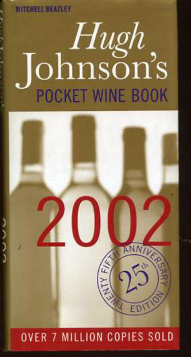 Image for Hugh Johnson's Pocket Wine Book: 2002