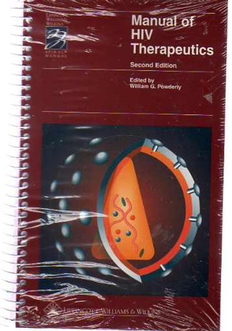 Image for Manual of HIV Therapeutics