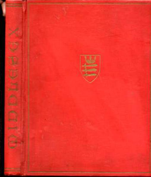 Image for Middlesex, the Jubilee of the County Council 1899-1939