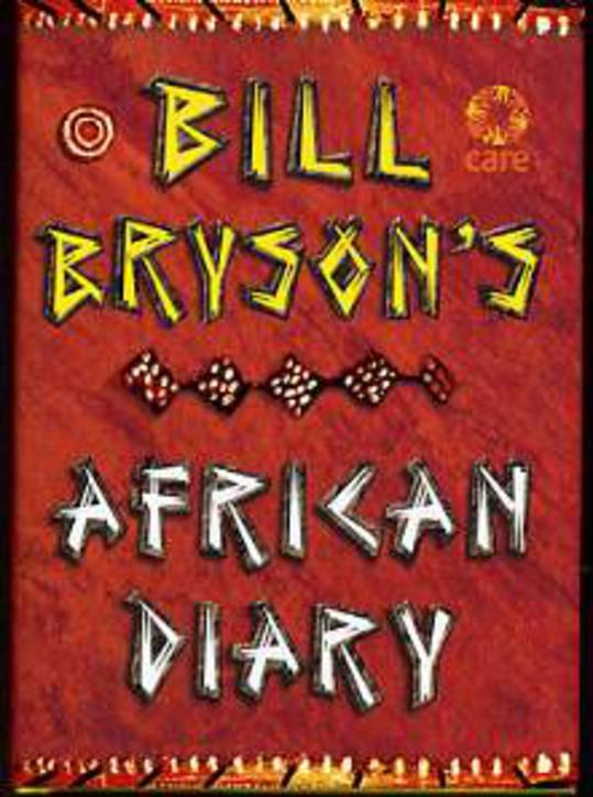 Image for Bill Bryson African Diary