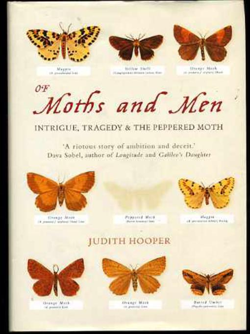 Image for Of Moths and Men: Intrigue,Tragedy and the Peppered Moth