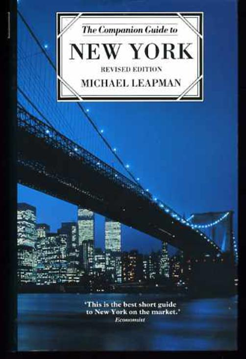 Image for The Companion Guide to New York