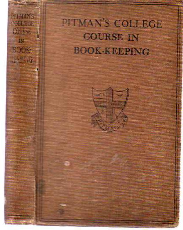 Image for Pitman's College Course in Book - Keeping