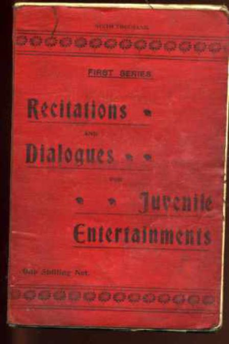 Image for Recitations and Dialogues for Juvenile Entertaiments Part I.