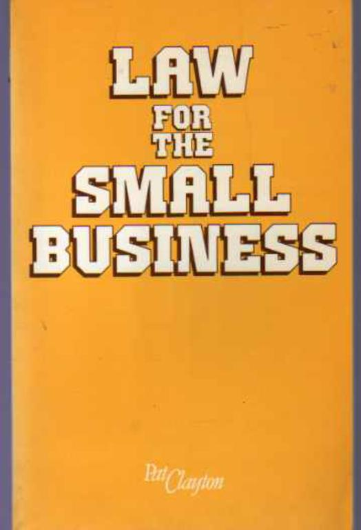 Image for Law for the Small Business