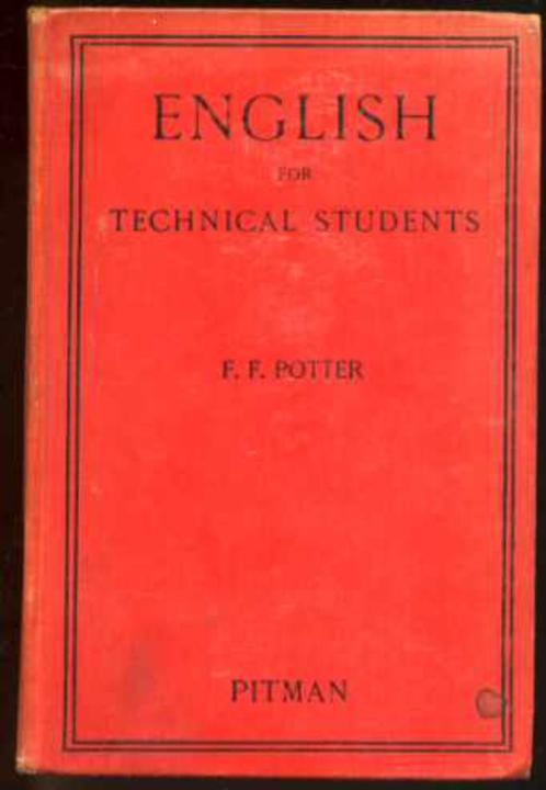 Image for English for Technical Students