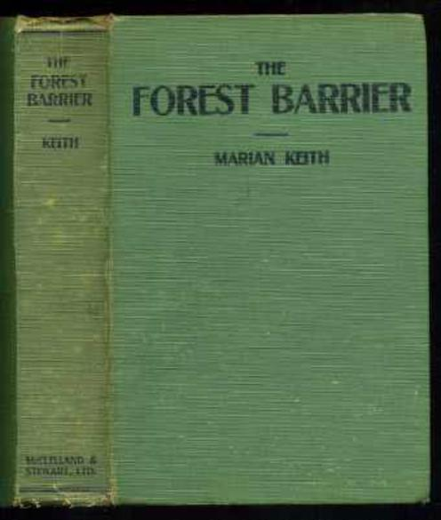 Image for The Forest Barrier: A Novel of Pioneer Days.