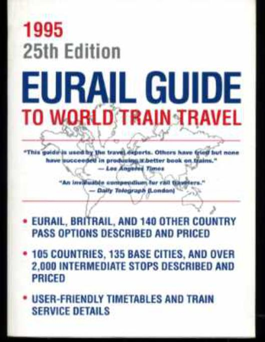 Image for Eurail Guide to World Train Travel