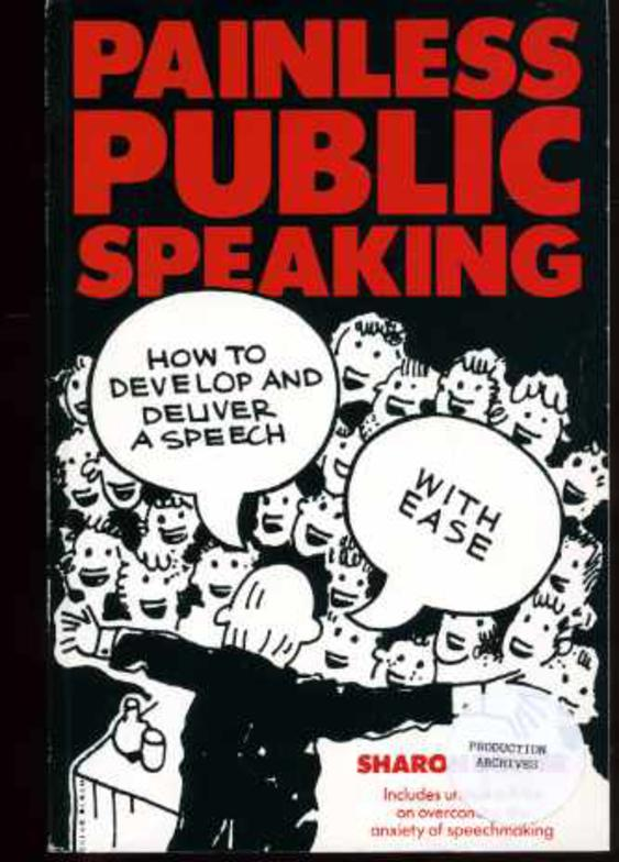 Image for Painless Public Speaking