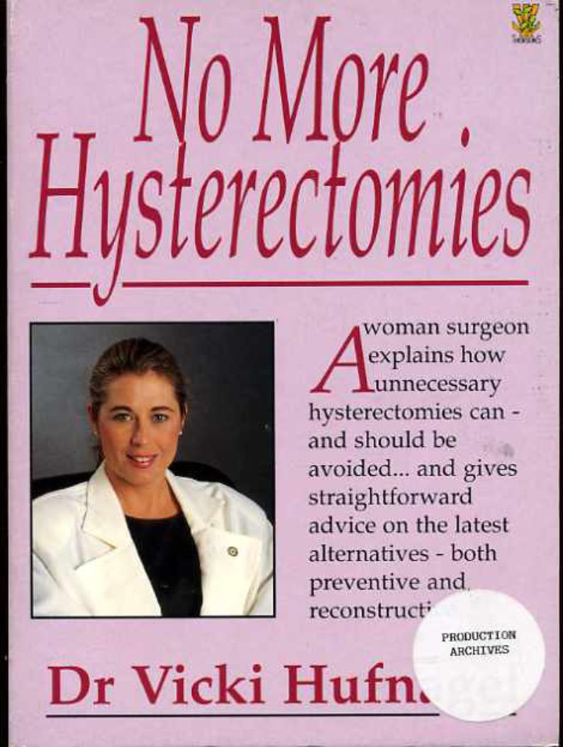 Image for No More Hysterectomies