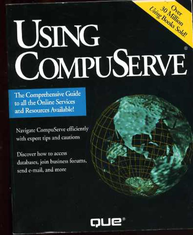 Image for Using Compuserve