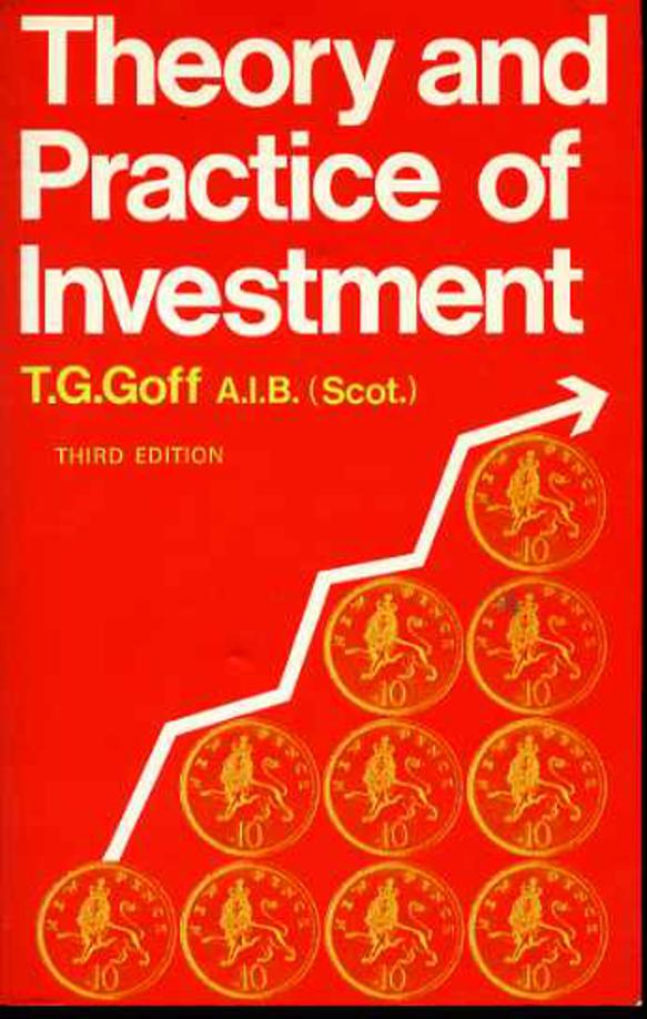 Image for Theory and Practice of Investment