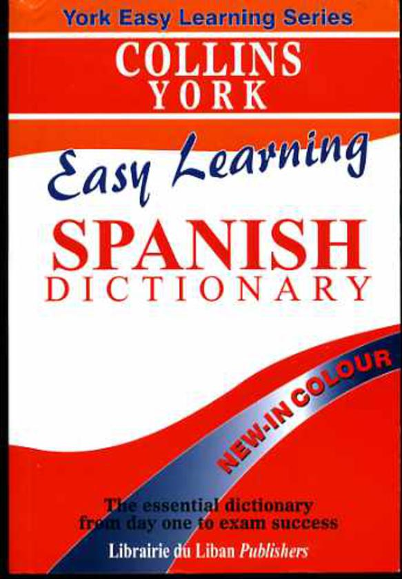Image for Collins Easy Learning Spanish Dictionary