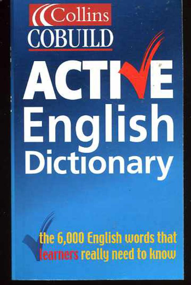 Image for Active Dictionary (Collins Cobuild Series)