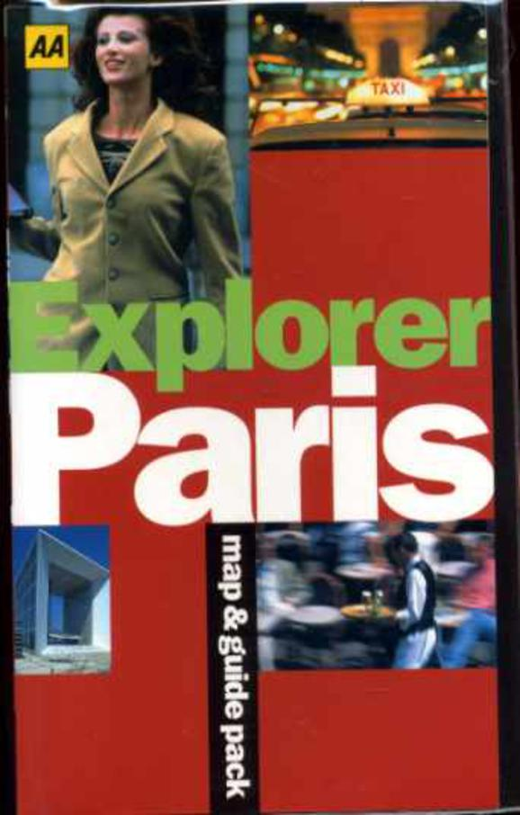 Image for Paris ( Explorer Map & Guide pack)