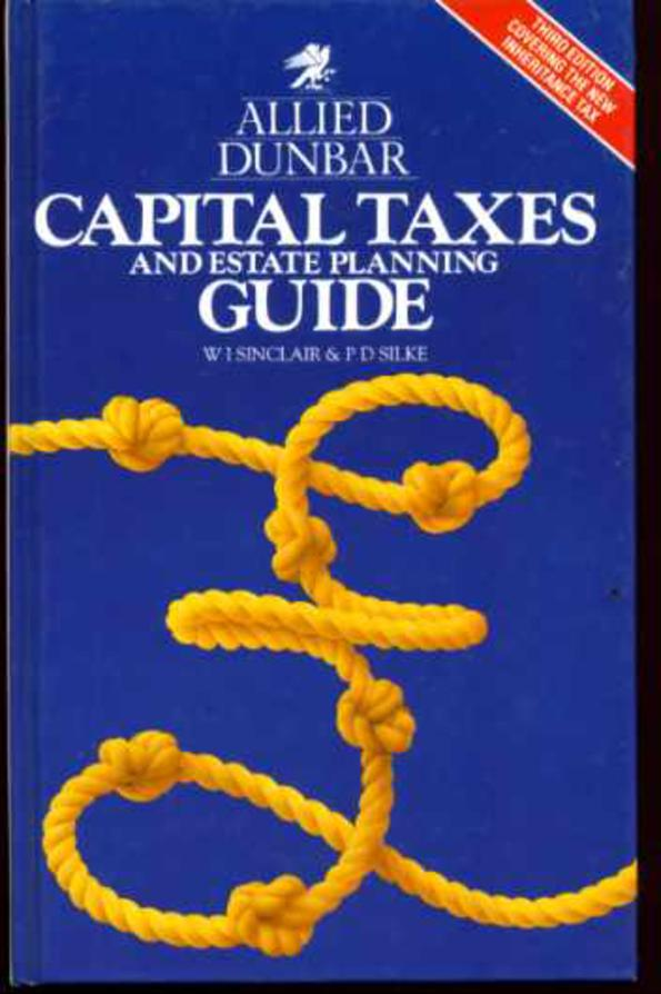 Image for Allied Dunbar Capital Taxes and Estate Planning Guide