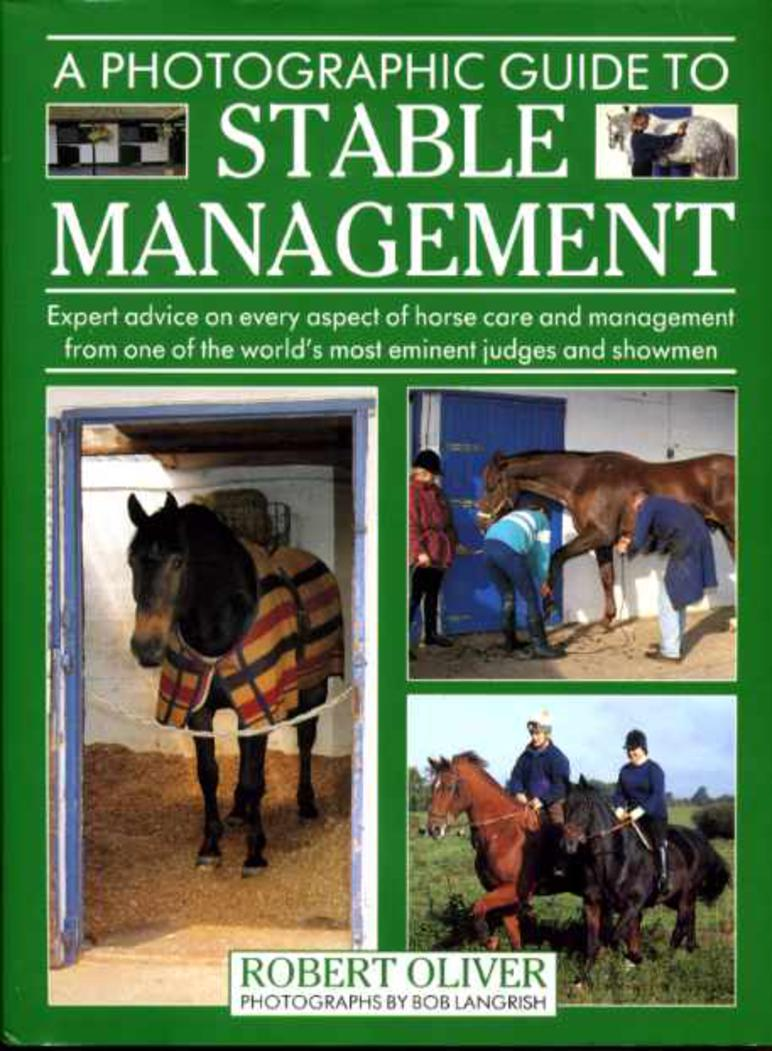 Image for A Photographic Guide to Stable Management